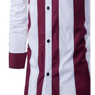 Men Long-Sleeved Clothes New Spring Slim Trend Casual ShirtMens Shirts<br>Men Long-Sleeved Clothes New Spring Slim Trend Casual Shirt<br><br>Collar: Turn-down Collar<br>Material: Cotton Blends<br>Package Contents: 1 X Shirts<br>Shirts Type: Casual Shirts<br>Sleeve Length: Full<br>Weight: 0.3000kg