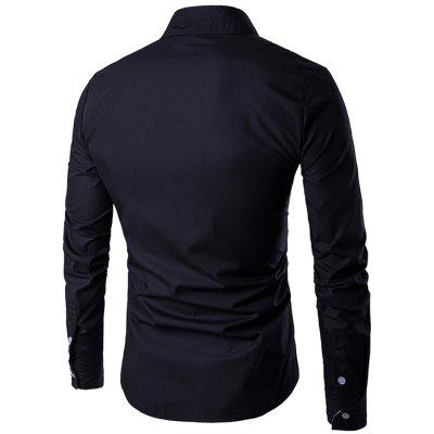 Men Fashion Long-Sleeved New Spring Slim Fashion Casual ShirtMens Shirts<br>Men Fashion Long-Sleeved New Spring Slim Fashion Casual Shirt<br><br>Collar: Turn-down Collar<br>Material: Cotton Blends<br>Package Contents: 1 X Shirts<br>Shirts Type: Casual Shirts<br>Sleeve Length: Full<br>Weight: 0.3000kg