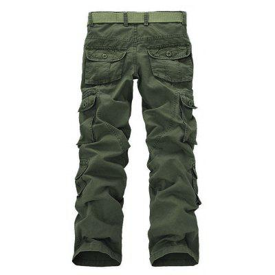 Casual Multi-pocket Pants for MenMens Pants<br>Casual Multi-pocket Pants for Men<br><br>Closure Type: Button Fly<br>Fabric Type: Worsted<br>Fit Type: Straight<br>Front Style: Flat<br>Material: Cotton Blends<br>Package Contents: 1XTrousers<br>Pant Length: Long Pants<br>Pant Style: Straight<br>Style: Casual<br>Waist Type: Mid<br>Weight: 0.4000kg<br>With Belt: No