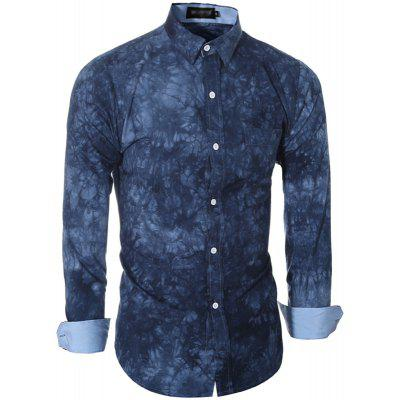 Fashion Leisure Mens Long Sleeve Tie Dye Printing ShirtMens Shirts<br>Fashion Leisure Mens Long Sleeve Tie Dye Printing Shirt<br><br>Collar: Turn-down Collar<br>Fabric Type: Broadcloth<br>Material: Cotton, Polyester<br>Package Contents: 1 X shirt<br>Shirts Type: Casual Shirts<br>Sleeve Length: Full<br>Weight: 0.3000kg