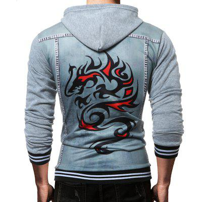 The Fashion Leisure Mens Printing Character Hoodie CoatMens Hoodies &amp; Sweatshirts<br>The Fashion Leisure Mens Printing Character Hoodie Coat<br><br>Fabric Type: Broadcloth<br>Material: Cotton, Polyester<br>Package Contents: 1 X hoodie<br>Shirt Length: Regular<br>Sleeve Length: Full<br>Style: Casual<br>Weight: 0.3500kg
