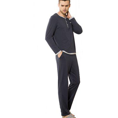 Cotton Pajamas Men's Casual Wear Suits