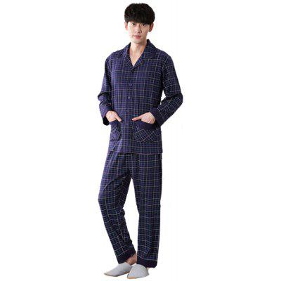Men's Long-Sleeved Cotton High-End Counters Pants
