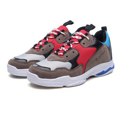 2018 Stylish Air-Mesh Sports ShoesMen's Sneakers<br>2018 Stylish Air-Mesh Sports Shoes<br><br>Available Size: 39-44<br>Closure Type: Lace-Up<br>Feature: Breathable<br>Gender: For Men<br>Insole Material: PU<br>Lining Material: Cotton Fabric<br>Outsole Material: Rubber<br>Package Contents: 1 x Shoes (pair)<br>Package Size(L x W x H): 30.00 x 20.00 x 10.00 cm / 11.81 x 7.87 x 3.94 inches<br>Package weight: 0.9000 kg<br>Pattern Type: Solid<br>Product Size(L x W x H): 30.00 x 20.00 x 10.00 cm / 11.81 x 7.87 x 3.94 inches<br>Product weight: 0.8000 kg<br>Season: Spring/Fall<br>Upper Material: Pigskin