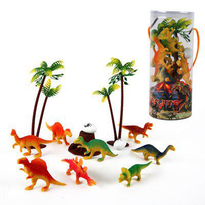 Mini Dinosaur Forest Model ToyMovies &amp; TV Action Figures<br>Mini Dinosaur Forest Model Toy<br><br>Completeness: Finished Goods<br>Gender: Boys,Girls,Kids<br>Materials: Plastic, ABS<br>Package Contents: 1 x Set of Dinosaur Model Toy<br>Package size: 7.00 x 7.00 x 17.00 cm / 2.76 x 2.76 x 6.69 inches<br>Package weight: 0.1000 kg<br>Product weight: 0.0900 kg<br>Stem From: Other<br>Theme: Animals