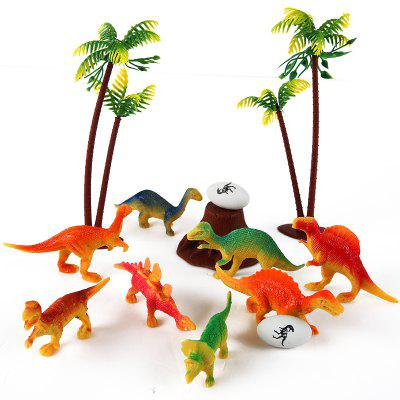 Mini Dinosaur Forest Model Toy