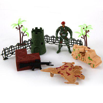 Military Model Fortress Battle Machine Toy