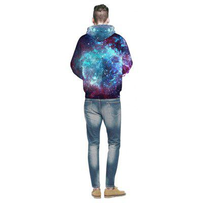 Men 3D Space Galaxy HoodieMens Hoodies &amp; Sweatshirts<br>Men 3D Space Galaxy Hoodie<br><br>Fabric Type: Terry<br>Material: Polyester<br>Package Contents: 1x Hoodie<br>Shirt Length: Regular<br>Sleeve Length: Full<br>Style: Active<br>Weight: 0.3900kg