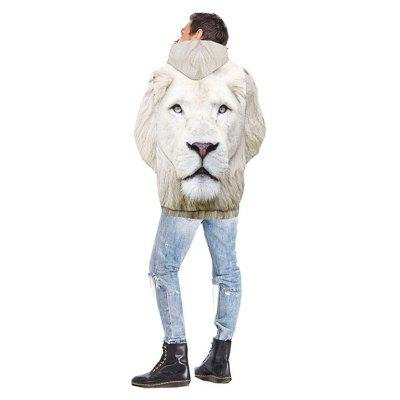 Men 3D Print Lion HoodieMens Hoodies &amp; Sweatshirts<br>Men 3D Print Lion Hoodie<br><br>Fabric Type: Terry<br>Material: Polyester<br>Package Contents: 1xHoodie<br>Shirt Length: Regular<br>Sleeve Length: Full<br>Style: Casual<br>Weight: 0.3250kg