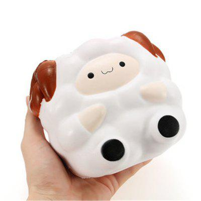 Jumbo Sheep 12cm Slow Rising with Packaging Collection Gift Decor Soft Squeeze Toy