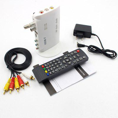 Digital Television Terrestrial converter TV Box Receiver 1080P HDMI Video ISDB-T HDMI AV