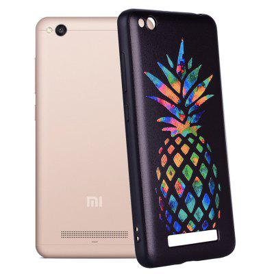 Case For Xiaom Redmi 4A Color Pineapple Pattern TPU Case