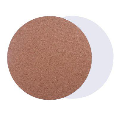 3D Printer220*3MM Round Shape Cork Sheets Heated Bed Hot Plate Heat Resistant Cotton with Adhesive Tape