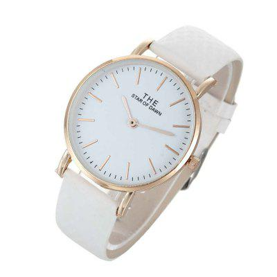 Temperature Change Color Women WatchWomens Watches<br>Temperature Change Color Women Watch<br><br>Band material: PU Leather<br>Case material: Zinc Alloy<br>Display type: Analog<br>Movement type: Quartz watch<br>Package Contents: 1 x Watch<br>Package size (L x W x H): 26.00 x 6.00 x 3.00 cm / 10.24 x 2.36 x 1.18 inches<br>Package weight: 0.5000 kg<br>Product size (L x W x H): 24.50 x 4.00 x 0.90 cm / 9.65 x 1.57 x 0.35 inches<br>Product weight: 0.0350 kg<br>Shape of the dial: Round<br>Watch style: Fashion, Casual<br>Watches categories: Women<br>Water resistance: No