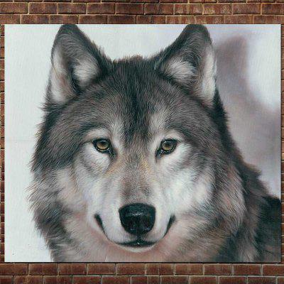 Super High Definition Animal Printing Canvas Painting Wolf Painting Living Room Home Wall Decor