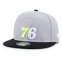 Wuke W50 Adjustable Digital Embroidered Gray Baseball Cap Flat Hat