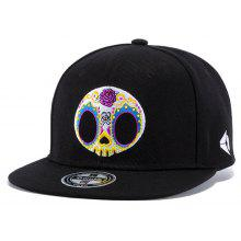 Wuke W163 Adjustable Embroidered Colorful Skulls Baseball Cap Outdoor Sport Hat