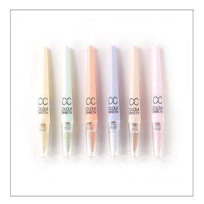 Menow 6PCS Pro Makeup Concealer CC Trimming Pencil Face Care Beauty Cosmetics Pen Automatic Rotation