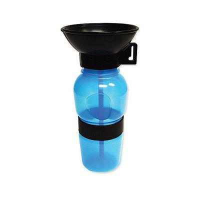 Portable Dog Water Dispenser Outdoor Pet Glass