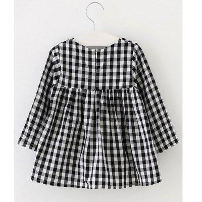 New Childrens Black and White Plaid SkirtGirls dresses<br>New Childrens Black and White Plaid Skirt<br><br>Dresses Length: Mini<br>Material: Cotton<br>Package Contents: 1 x Dress<br>Pattern Type: Plaid<br>Silhouette: Ball Gown<br>Style: British<br>Weight: 0.1100kg<br>With Belt: No