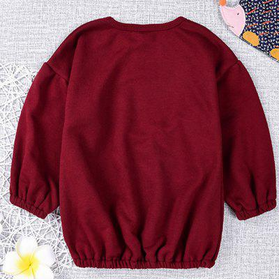 New Lantern Sleeve Pure Color Children's T-Shirt new