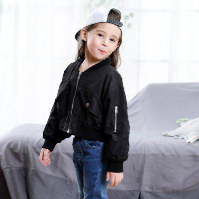 New Childrens Fashion Baseball Coat for GirlGirls Outerwear<br>New Childrens Fashion Baseball Coat for Girl<br><br>Closure Type: Zipper<br>Clothes Type: Trench<br>Collar: V-Neck<br>Embellishment: Appliques<br>Material: Cotton<br>Package Contents: 1 x Coat<br>Pattern Type: Others<br>Shirt Length: Regular<br>Sleeve Length: Full<br>Style: Contracted<br>Type: Slim<br>Weight: 0.1300kg