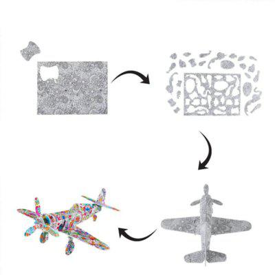 3D Coloring Puzzles Educational Toys Creative Toy Vehicles Plane Helicopter TrainLogic &amp; Puzzle Toys<br>3D Coloring Puzzles Educational Toys Creative Toy Vehicles Plane Helicopter Train<br><br>Gender: Boys,Girls<br>Materials: Paper<br>Package Contents: 1 x Puzzle, 5 x Colorful pencils, 1 x Gift Box<br>Package size: 22.00 x 14.00 x 3.50 cm / 8.66 x 5.51 x 1.38 inches<br>Package weight: 0.1000 kg<br>Stem From: Other<br>Style: Geometric Shape, Landscape, Cartoon<br>Theme: Movie and TV,Fantasy and Sci-fi<br>Type: Jigsaw Puzzle, Personalized Jigsaw, 3D Puzzle