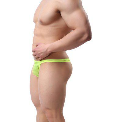 Mens   Transparent and Ventilated  Low Waist  UnderwearMens Underwear &amp; Pajamas<br>Mens   Transparent and Ventilated  Low Waist  Underwear<br><br>Material: Nylon<br>Package Contents: 1  x  briefs<br>Package size (L x W x H): 1.00 x 1.00 x 1.00 cm / 0.39 x 0.39 x 0.39 inches<br>Package weight: 0.0300 kg<br>Waist Type: Low