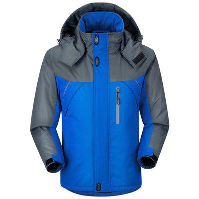 Men's Waterproof Outdoor Mountaineering Warm Coat