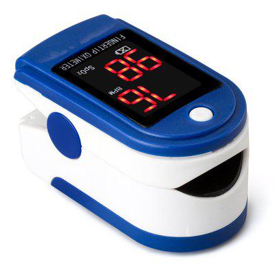 Oximetry Fingers Type Heart Rate Meter Pulse Blood Oxygen Saturation Concentration Detector