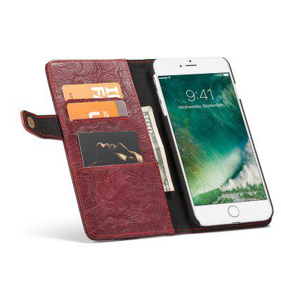 CaseMe Wallet Mobile Phone Case Hard Back Cover for iPhone 7 Plus/8 Plus
