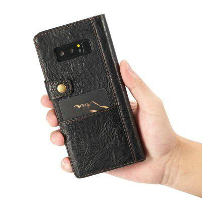 CaseMe for Samsung Galaxy Note 8 Multifunctional Mobile Phone Accessories Flip Wallet Leather Case with 4 Card SlotsSamsung Note Series<br>CaseMe for Samsung Galaxy Note 8 Multifunctional Mobile Phone Accessories Flip Wallet Leather Case with 4 Card Slots<br><br>Brand: CaseMe<br>Color: Black,Red,Blue,Brown<br>Compatible for Samsung: Samsung note 8, Samsung Galaxy Note 8<br>Features: Back Cover, With Credit Card Holder<br>Functions: Camera Hole Location<br>Material: Metal, PU Leather<br>Package Contents: 1 x Phone Case<br>Package size (L x W x H): 16.80 x 8.50 x 2.10 cm / 6.61 x 3.35 x 0.83 inches<br>Package weight: 0.1040 kg<br>Product size (L x W x H): 16.70 x 8.40 x 2.00 cm / 6.57 x 3.31 x 0.79 inches<br>Product weight: 0.0940 kg<br>Style: Name Brand Style, Vintage, Leather