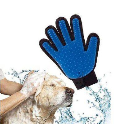 New Cleaning Brush Magic Glove Pet Dog Cat Massage Hair Removal Grooming Groomer(One Glove)