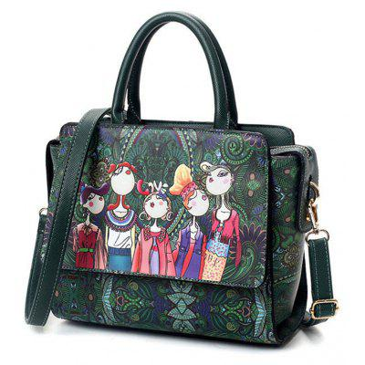 Patchwork Forest Girl Green Designer Leather Fashion Messenger Bags Ladies Single Shoulder BagHandbags<br>Patchwork Forest Girl Green Designer Leather Fashion Messenger Bags Ladies Single Shoulder Bag<br><br>Closure Type: Zipper<br>Embellishment: None<br>Exterior: None<br>Gender: For Women<br>Handbag Size: Small(20-30cm)<br>Handbag Type: Shoulder bag<br>Hardness: Soft<br>Interior: Zipper Pouch<br>Lining Material: Polyester<br>Main Material: PU<br>Number of Handles / Straps: Single<br>Occasion: Versatile<br>Package Contents: 1 x Bag<br>Package size (L x W x H): 25.50 x 13.00 x 21.50 cm / 10.04 x 5.12 x 8.46 inches<br>Package weight: 0.5600 kg<br>Pattern Type: Character<br>Product size (L x W x H): 25.00 x 12.50 x 21.00 cm / 9.84 x 4.92 x 8.27 inches<br>Shape: Hobos,Flap,Trapeze<br>Style: Fashion<br>With Pendant: No