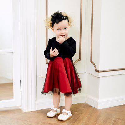 yoyoxiu CX1118 Girls Gauze Long Sleeve DressGirls dresses<br>yoyoxiu CX1118 Girls Gauze Long Sleeve Dress<br><br>Dresses Length: Knee-Length<br>Elasticity: Micro-elastic<br>Material: Cotton<br>Neckline: Round Collar<br>Package Contents: 1X Dress<br>Pattern Type: Patchwork<br>Season: Spring, Fall<br>Silhouette: Ball Gown<br>Sleeve Length: Long Sleeves<br>Style: Brief<br>Weight: 0.2000kg<br>With Belt: No