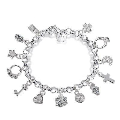 Silver-plated Bracelet Charm for Women