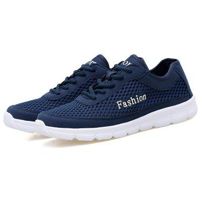 Summer Men Lightweight Breathable Sports Running Casual ShoesMen's Sneakers<br>Summer Men Lightweight Breathable Sports Running Casual Shoes<br><br>Available Size: 38-46<br>Closure Type: Lace-Up<br>Feature: Breathable<br>Gender: Unisex<br>Outsole Material: PVC<br>Package Contents: 1 x shoes(pair)<br>Package Size(L x W x H): 30.00 x 20.00 x 13.00 cm / 11.81 x 7.87 x 5.12 inches<br>Package weight: 0.3500 kg<br>Pattern Type: Solid<br>Season: Summer<br>Shoe Width: Medium(B/M)<br>Upper Material: Denim
