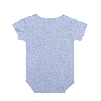 SOSOCOER Newborn Infant Bodysuits The Summer Foxs Printing Short Sleeved Baby Romperbaby rompers<br>SOSOCOER Newborn Infant Bodysuits The Summer Foxs Printing Short Sleeved Baby Romper<br><br>Brand: SOSOCOER<br>Closure Type: Pullover<br>Collar: Round Neck<br>Gender: Unisex<br>Material: Cotton<br>Package Contents: 1 x Romper<br>Pattern Style: Animal<br>Season: Summer<br>Sleeve Length: Short<br>Sleeve Style: Regular<br>Style: Leisure<br>Thickness: General<br>Weight: 0.1000kg