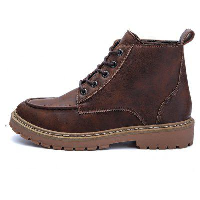 ZEACAVA High-Top Tooling Boots Martin Denim Casual Mens ShoesMens Boots<br>ZEACAVA High-Top Tooling Boots Martin Denim Casual Mens Shoes<br><br>Available Size: 39-44<br>Closure Type: Lace-Up<br>Feature: Height Increasing<br>Gender: For Men<br>Outsole Material: Rubber<br>Package Contents: 1 x Shoes (pair)<br>Package Size(L x W x H): 30.00 x 20.00 x 10.00 cm / 11.81 x 7.87 x 3.94 inches<br>Package weight: 0.6500 kg<br>Pattern Type: Solid<br>Season: Winter<br>Shoe Width: Medium(B/M)<br>Upper Material: PU