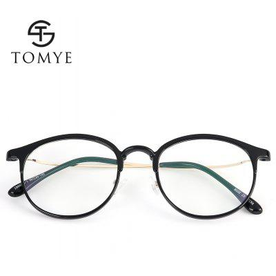 TOMYE 19002 Unisex Round Frame EyeglassesMens Sunglasses<br>TOMYE 19002 Unisex Round Frame Eyeglasses<br><br>Brand: TOMYE<br>Frame Length: 138mm<br>Frame material: Acetate<br>Gender: Unisex<br>Group: Adult<br>Lens height: 42mm<br>Lens material: Resin<br>Lens width: 50mm<br>Nose: 20mm<br>Package Contents: 1 x Pair of Sunglasses<br>Package size (L x W x H): 17.00 x 9.00 x 7.00 cm / 6.69 x 3.54 x 2.76 inches<br>Package weight: 0.0600 kg<br>Product weight: 0.0120 kg<br>Style: Round<br>Temple Length: 145mm