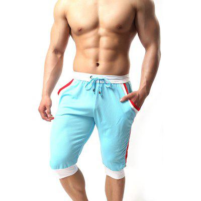 Mens Casual Fashion Short PantsMens Shorts<br>Mens Casual Fashion Short Pants<br><br>Closure Type: Elastic Waist<br>Elasticity: Super-elastic<br>Fabric Type: Worsted<br>Fit Type: Skinny<br>Length: Capri<br>Material: Microfiber<br>Package Contents: 1 x Shorts<br>Package size (L x W x H): 1.00 x 1.00 x 1.00 cm / 0.39 x 0.39 x 0.39 inches<br>Package weight: 0.5000 kg<br>Pant Style: Pencil Pants<br>Pattern Type: Solid<br>Style: Active<br>Thickness: Thin<br>Waist Type: Mid