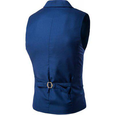 Mens Waistcoat Cotton Double-breasted Button Sleeveless Turndown Collar GiletMens Blazers<br>Mens Waistcoat Cotton Double-breasted Button Sleeveless Turndown Collar Gilet<br><br>Closure Type: Double Breasted<br>Clothing Length: Regular<br>Embellishment: Button,Sashes<br>Fit Type: Regular<br>Hooded: No<br>Material: Cotton Blends<br>Package Contents: 1 x Gilet<br>Package size (L x W x H): 1.00 x 1.00 x 1.00 cm / 0.39 x 0.39 x 0.39 inches<br>Package weight: 0.3000 kg<br>Pattern Type: Solid<br>Sleeve Length: Sleeveless<br>Type: Vests