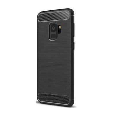 Case for Samsung Galaxy S9 Shockproof Back Cover Solid Color Soft Carbon fiberSamsung S Series<br>Case for Samsung Galaxy S9 Shockproof Back Cover Solid Color Soft Carbon fiber<br><br>Features: Back Cover, Anti-knock<br>For: Samsung Mobile Phone<br>Material: TPU, Carbon<br>Package Contents: 1 x Phone Case<br>Package size (L x W x H): 20.00 x 11.50 x 1.00 cm / 7.87 x 4.53 x 0.39 inches<br>Package weight: 0.0300 kg<br>Style: Solid Color