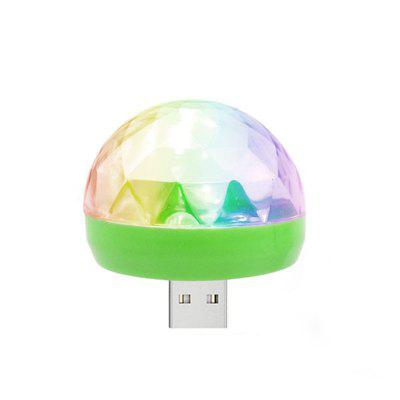 USB Powered Mini RGB LED Ball Shape Stage Effect Light for  Phone PC Car