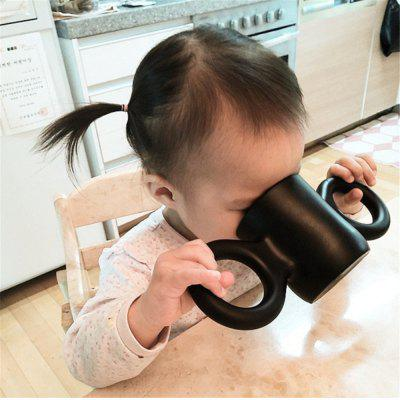 Baby Anti-Drop Bottle Water Candy Color Children Milk Cup for Decoration