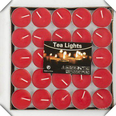 50pcs Light For Wedding Decoration Romantic Party Holiday Tea Candles