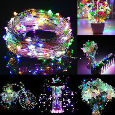 3M Copper Wire LED String lights Waterproof Holiday lighting For Fairy Christmas Tree Wedding Party Decoration