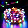 3M Drut miedziany LED String lights Wodoodporne oświetlenie Holiday Fairy Christmas Tree Wedding Party Decoration - KOLOR