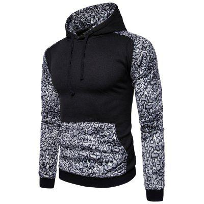 Leisure All-Match Leopard HoodieMens Hoodies &amp; Sweatshirts<br>Leisure All-Match Leopard Hoodie<br><br>Material: Cotton, Polyester<br>Package Contents: 1 x Hoodie<br>Shirt Length: Short<br>Sleeve Length: Full<br>Style: Casual<br>Weight: 0.5000kg