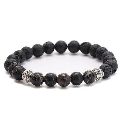 Fashion Natural Stone Beads Bracelet Bangle For Women Stretch Yoga Jewelry Accessories Gifts For Lovers Good Gift